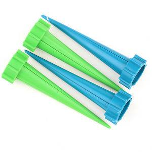 4 Pcs Garden Cone Watering Spike Plant Flower Waterers Bottle Irrigation System