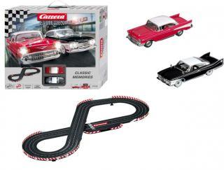 Carrera Classic Memories Chevy Bel Air Slot Car Set 1 32 25158 SCX Scalextric