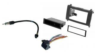 Scosche CR1292B Radio Installation Dash DIN Kit Wire Harness Antenna Adapter