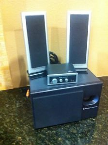 Altec Lansing VS3121 Computer Speakers with Subwoofer and Volume Control