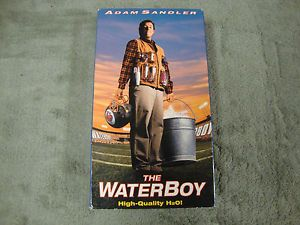 The Waterboy VHS 1999 Leading Role Adam Sandler Comedy VHS