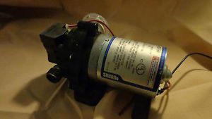 Shurflo Diaphragm Pump 2088 403 144 Tested Working 2 8 GPM 12 Volt Water Pump