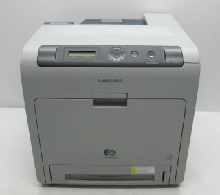 Samsung CLP 620ND Color Laser Workgroup Printer Page Count 5955 008260000082