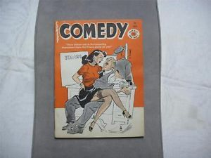 Comedy July 62 PINUPS Bill Ward Cartoons Vintage Mens Magazine Man'S