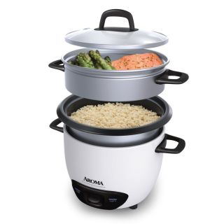 New★aroma Rice Cooker Food Steamer Non Stick Chilis Stews Meats Veggies More