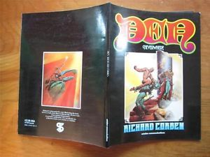 Richard Corben Den Neverwhere Catalan Communications Second Printing 1985