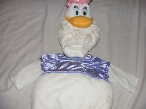 Disney Daisy Duck Costume Infant Baby 6 9 Months Costume with Squeaker
