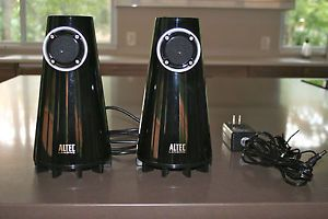 Altec Lansing FX3022 Computer Speakers Barely Used Black for Computer