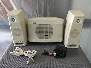 Altec Lansing Multimedia Computer Speaker System ACS490 ACS160 Work Tested