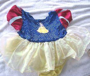 Gorgeous Princess Snow White Baby Girls Costume Dress 18 24 Month