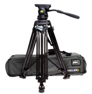 Miller Arrow 30 Video Tripod System w 1576 Carbon Fiber Legs Spreader
