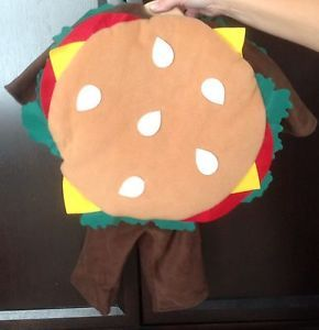 Old Navy Baby Halloween Costume Cheeseburger Hamburger 0 6 Months