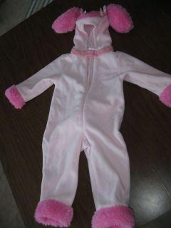 Pink Baby Poodle Dog Halloween Costume Gymboree XXXS 12