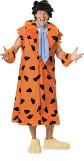 Fred Flintstone The Flintstones Caveman Cartoon Adult Plus Size XL Costume