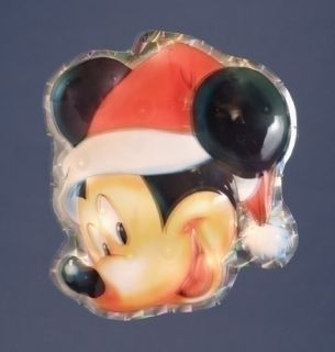 Disney Mickey Mouse Lighted Christmas Window Decoration