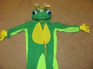 Toddler Child Kids Large Frog Prince Halloween Costume Super Cute 2T 3T Boys