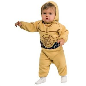 C 3PO Star Wars Droid Robot Dress Up Halloween Baby Infant Toddler Child Costume