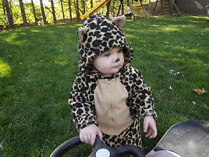 Baby Jaguar Cheetah Leopard Halloween Costume 12M