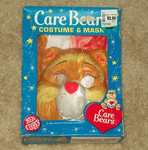 Vintage Ben Cooper Care Bears Tenderheart Bear Halloween Costume in Box