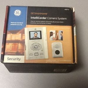 Brand New GE Smart Home Intellicorder Camera System Remote Motion Audio Home