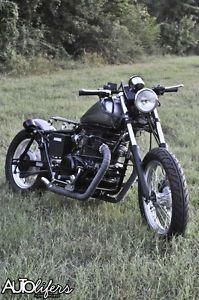 Honda 450 Custom Bobber Brat Bar Hopper Baord Track Cafe Chopper