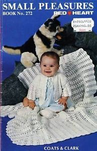 Baby Clothing Blanket Crochet Knitting Patterns Coats Clarks Book No 272