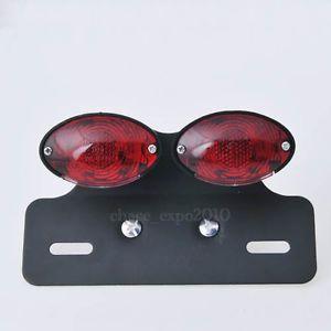 LED Motorcycle Quad ATV Turn Signal Brake License Plate Integrated Tail Light
