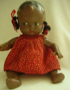 African American Composition Doll