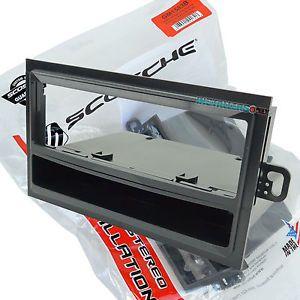 Chevrolet Car Stereo Single DIN Mount Radio Install Dash Kit w Pocket GM1583B