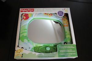 Fisher Price Baby Music and Discovery Travel Car Seat Mirror Toy Clothes 0 3M