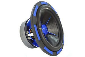 NEW POWER ACOUSTIK MOFO124X 12 2700W CAR AUDIO SUBWOOFER SUB MOFO 124X