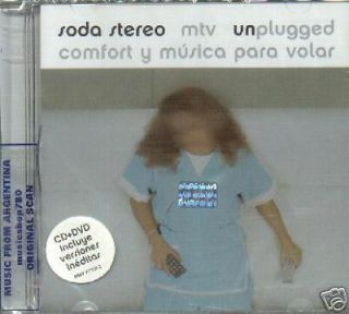 DVD CD Soda Stereo MTV Unplugged SEALED New