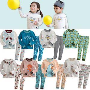 "Korea 2pcs Baby Toddler Kid Girl Boy Clothes Sleepwear Pajama Set""Mimir 8"""