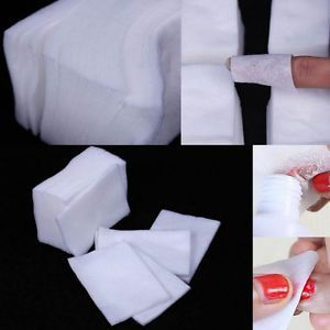 1000x Lint Free Nail Art Wipes Paper Pad Gel Acrylic Tips Polish Remover Cleaner