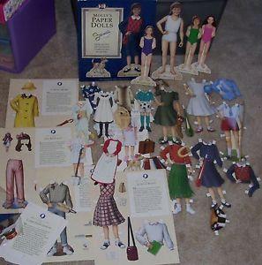 American Girl Molly Paper Dolls