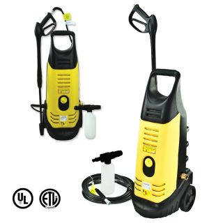 110V Heavy Duty 3000psi 2000W High Pressure Car Washer w Pressure Jet Spayer