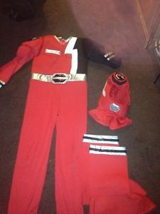Disney Store Power Ranger Costume