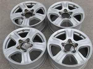 "07 12 Toyota Tundra 18"" Alloy Wheels Rims Set LKQ"