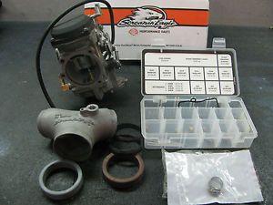Harley Screamin Eagle Pro Big Bore CV 44 Carburetor Manifold Race Tuner Kit