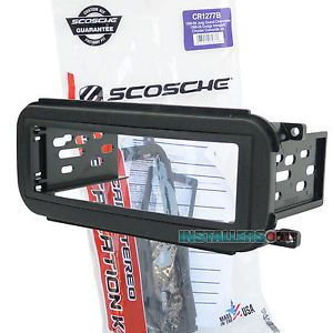 Dodge Car Stereo Single ISO DIN Mount Radio Install Dash Kit Scosche CR1277B