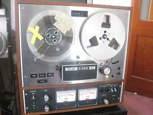 Teac A 4010SL Auto Reverse Reel to Reel Tape Deck Player Recorder Nice