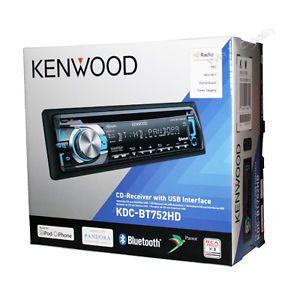 Kenwood KDC BT752HD CD  WMA Player Car Stereo Receiver Bluetooth HD Radio USB
