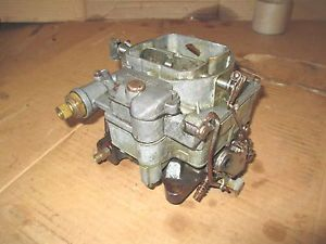 1959 1960 Chevy WCFB Carburetor Carb Corvette 4 Speed Impalla Carter 2818s
