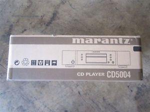 New Marantz CD5004 Compact Disc Player Black