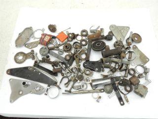 Large Lot British Motorcycle Parts Triumph Norton BSA 250 441 500 650 750 133