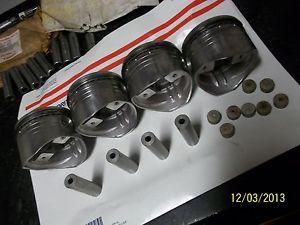 MTC Kawasaki Z1 KZ900 KZ1000 Big Bore Piston Kit Turbo 82mm Dragbike Part