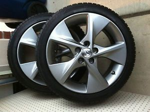 """4 18"""" Toyota Camry 5 Spoke Alloy Wheels Rims with Tires and TPMS"""