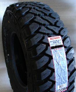 4 New LT265 75R16 Kenda Mud Tires 265 75 16 Load Range E 10 Ply M T