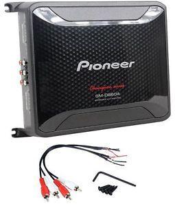 Pioneer GM D8604 1200 Watt 4 Channel Class FD Digital