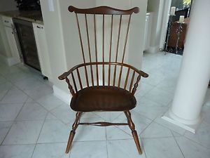 Windsor Chair Handmade in The USA by Richard Grell in 1985